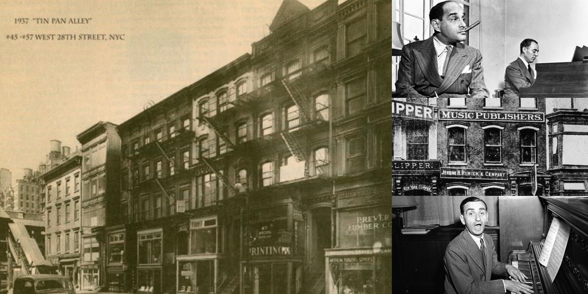 'NYC's Tin Pan Alley: The Birthplace of America's Music Industry' Webinar, 28 September | Online Event | AllEvents.in