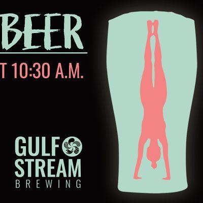 Yoga & Beer at Gulf Stream Brewing