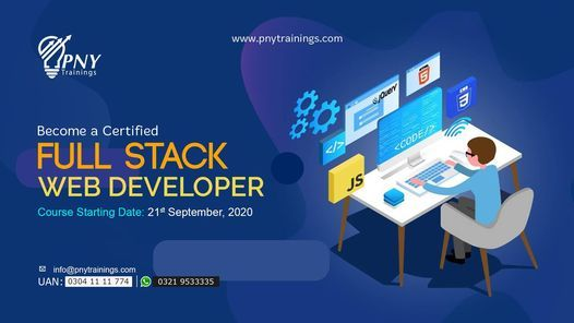 Become a Certified Full Stack Web Developer (Arfa Tower)