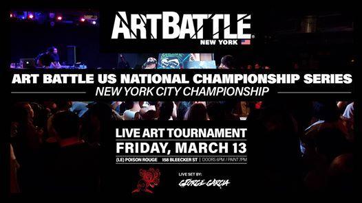 Art Battle New York City Championship - March 13 2020