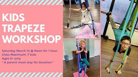 Kids Trapeze Yoga Workshop Space Limited At Zen Den Wellness Center Granbury