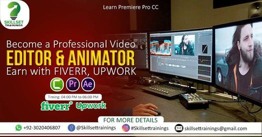 Become a Professional Video Editor & Animator