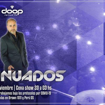 Cena show en vivo con la presentacin de Matias Sotelo