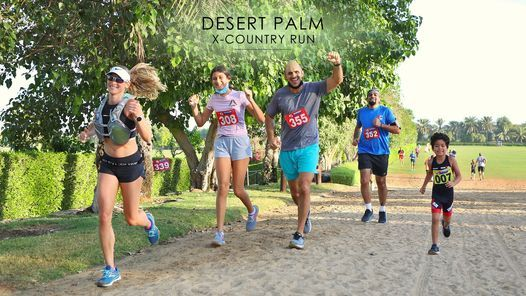 Desert Palm X-Country Run: 15,10,5,3k Race 2, 26 March | Event in Dubai | AllEvents.in