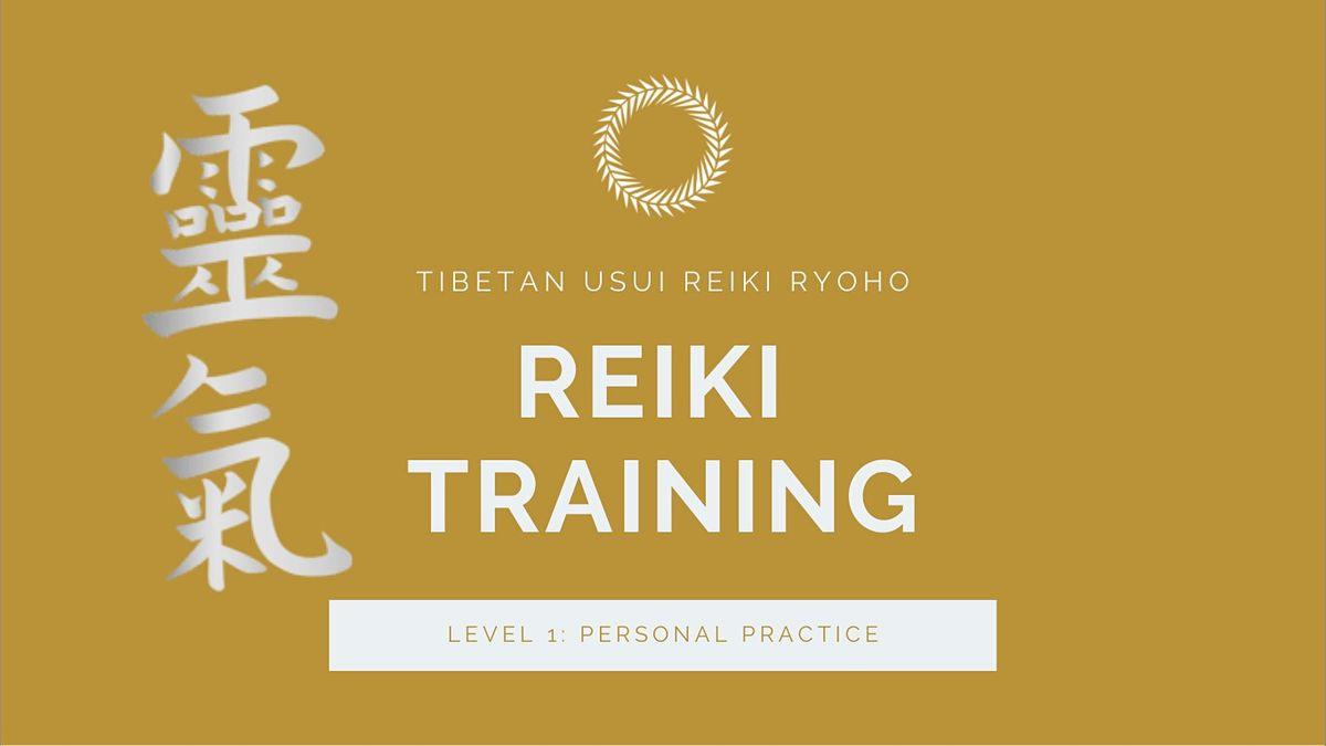 Usui Reiki Certification Level 1 (Online)