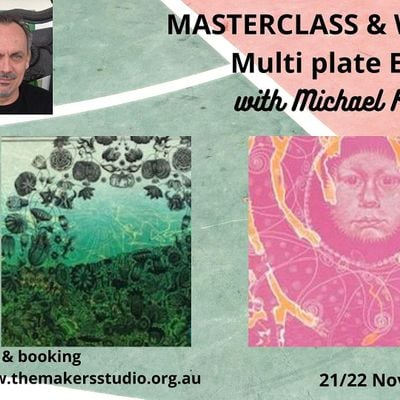 Masterclass & Workshop Multi Plate Etching with Michael Kempson