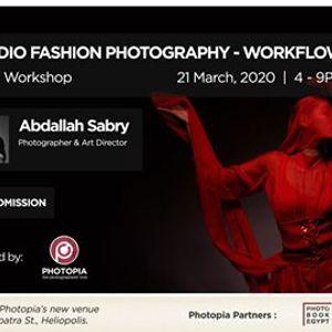 Studio Fashion Photography - Workflow  SONY workshop