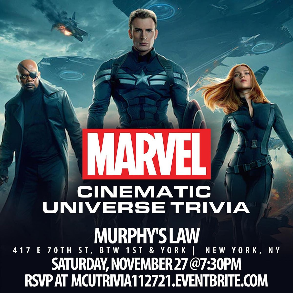 Marvel Cinematic Universe Trivia, 27 November | Event in New York | AllEvents.in