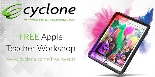 Cyclones Apple Teacher Workshop - Wellington