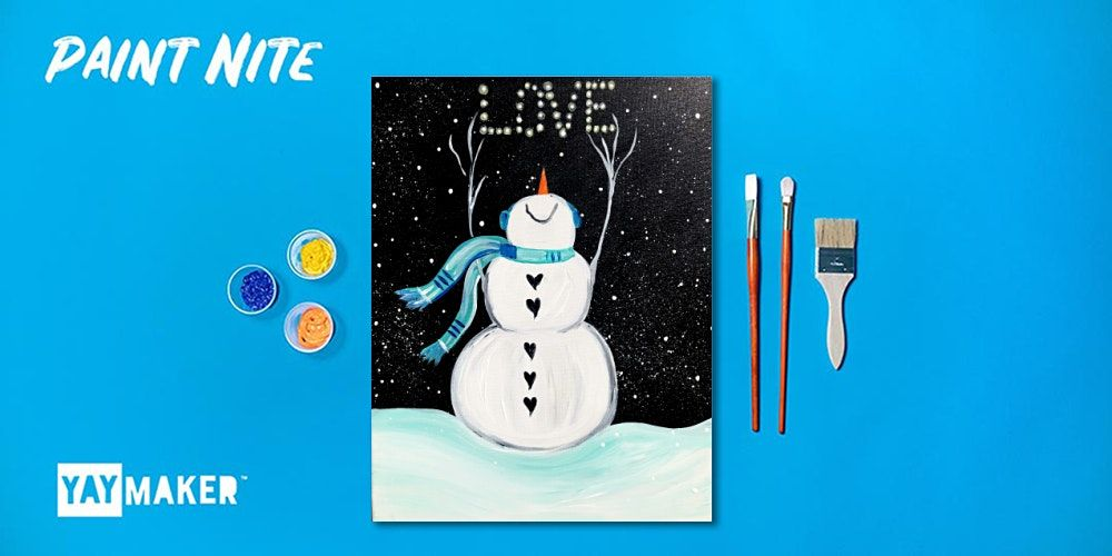 Paint Nite: The Original Paint and Sip Party, 29 December   Event in Garden City   AllEvents.in