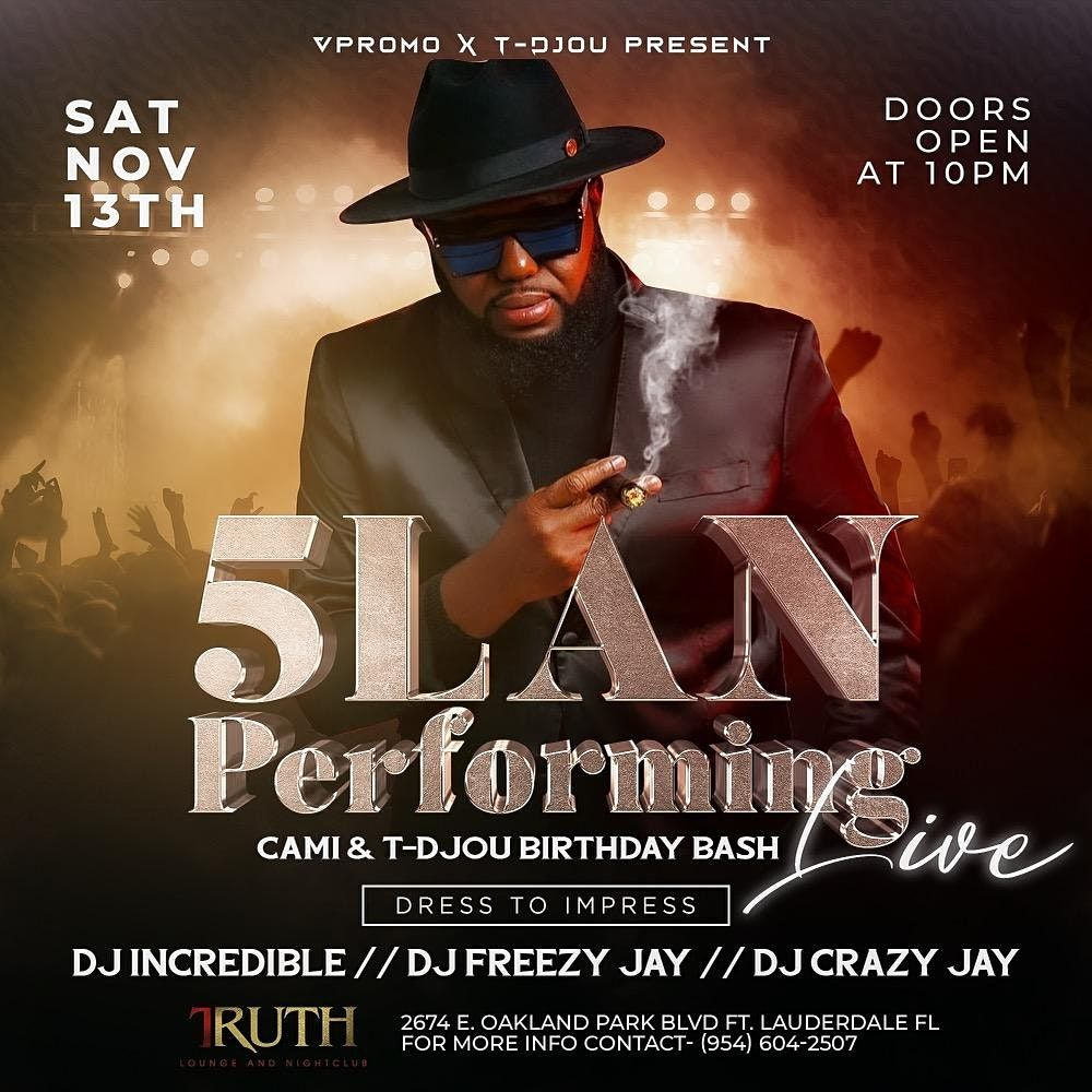 5lan performing live, 13 November | Event in Fort Lauderdale | AllEvents.in