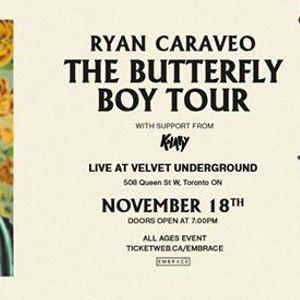 Ryan Caraveo at Velvet Underground  Nov 18