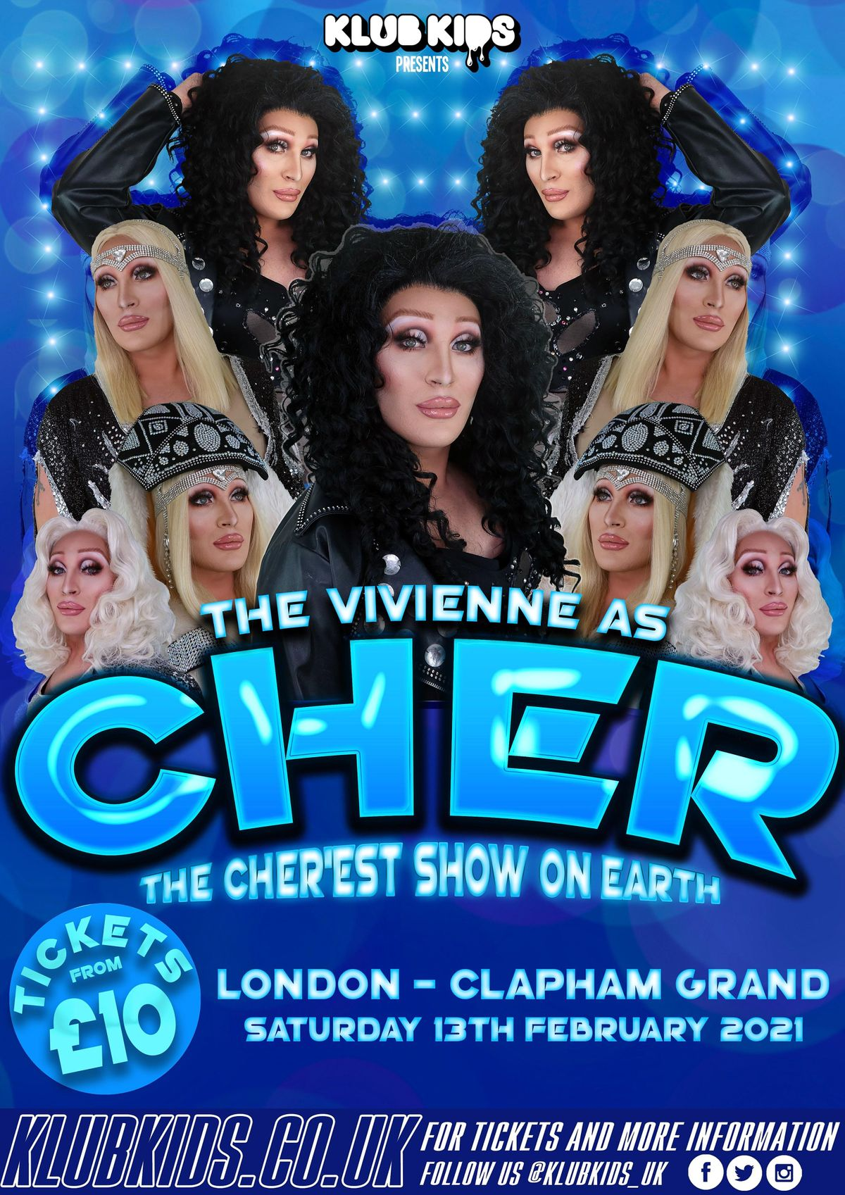 Klub Kids London Presents: THE VIVIENNE as Cher (+14), 1 January | Event in London | AllEvents.in