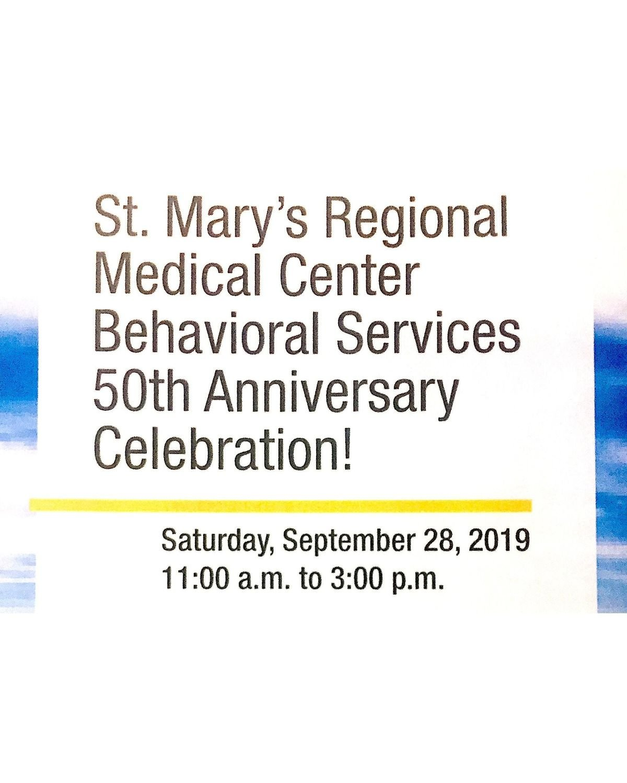 SMRMC Behavioral Services 50th Anniversary Celebration at