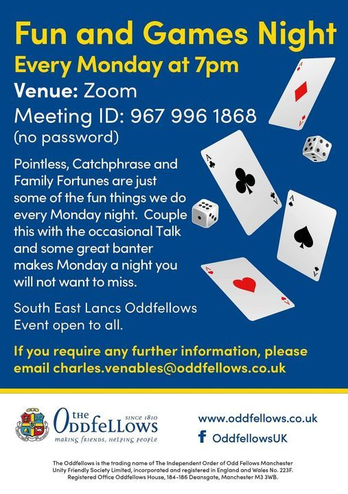 Fun and Games night every Monday | Event in Chesterfield | AllEvents.in