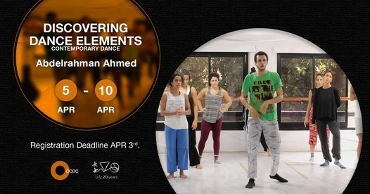 Discovering Dance Elements (Contemporary Dance) Workshop With Abdelrahman Ahmed | Event in Helwan | AllEvents.in