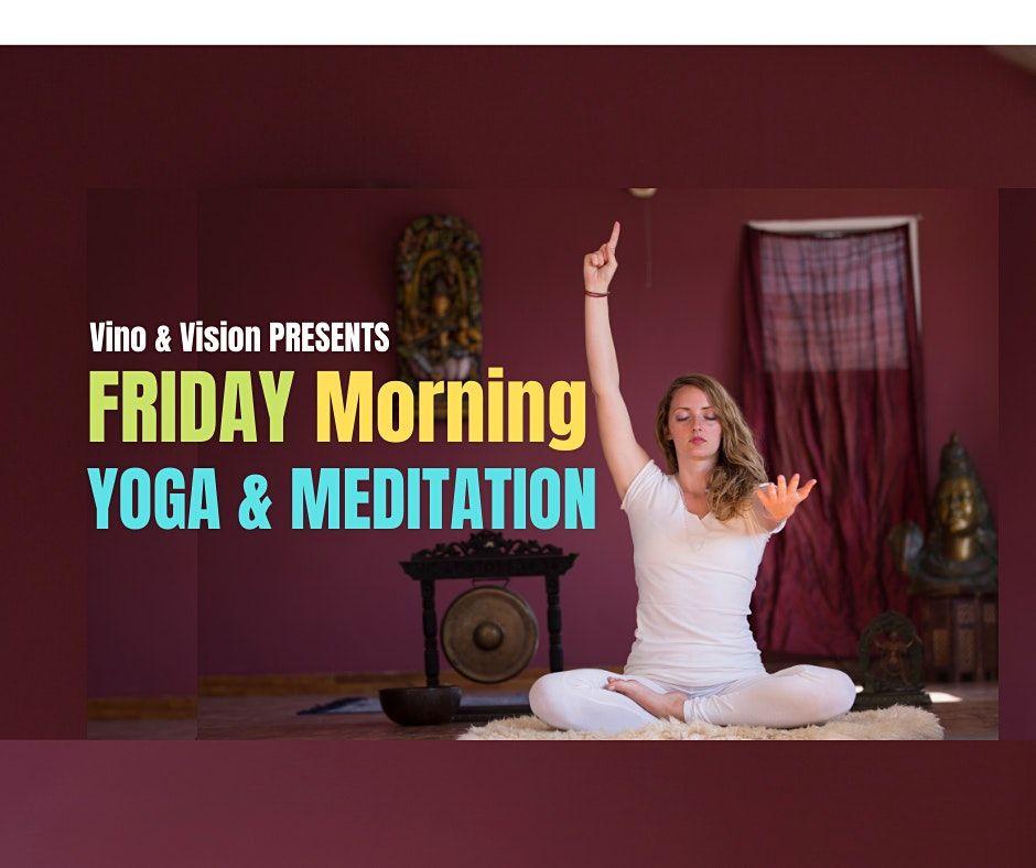 Friday Morning YOGA & MEDITATION   Online Event   AllEvents.in