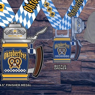 2020 Oktoberfest Virtual 5k Run Walk - Elgin