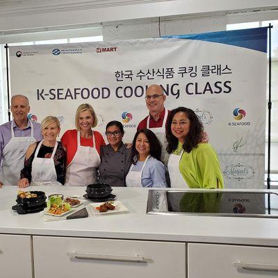 Cooking Class Korean Seafood