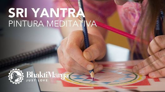 Sri Yantra - Curso de pintura meditativa  Braga