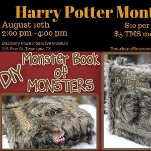 Harry Potter Month Monster Book of Monster