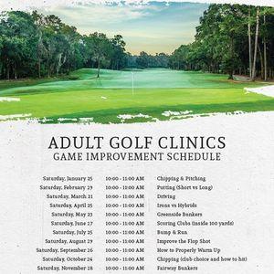 Adult Golf Clinics