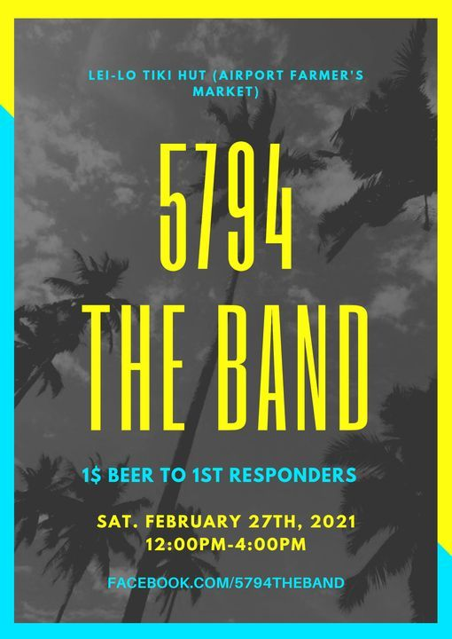 5794 The Band @ Lei-Lo Tiki Hut, 27 February | Event in Brooksville | AllEvents.in