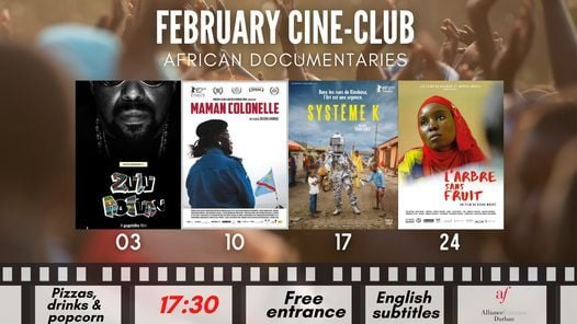 February Cine-Club: African documentaries | Event in Durban | AllEvents.in