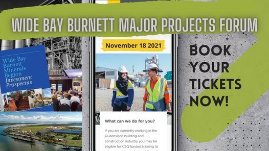 2021 Wide Bay Burnett Major Projects Forum, 18 November   Event in Maryborough   AllEvents.in