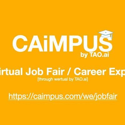 Caimpus Virtual Job FairCareer Expo College University EventRiverside