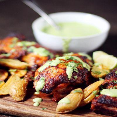 UBS - Virtual Cooking Class Peruvian Chicken with Aji Verde
