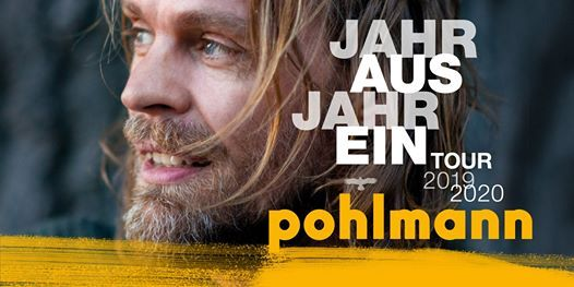 Pohlmann Jahr aus Jahr ein Tour 2019  2020 in Hamburg