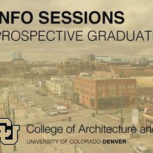 Info Session Prospective Graduate Students