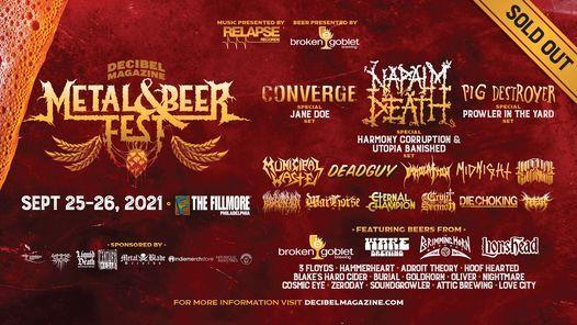 Decibel Magazine Metal & Beer Fest, 25 September | Event in Philadelphia | AllEvents.in