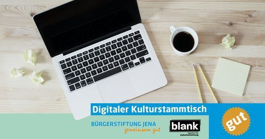 Digitaler Jenaer Kulturstammtisch, 27 October | Online Event | AllEvents.in