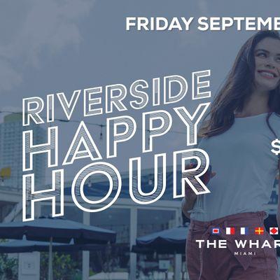 The Wharf Miamis Riverside Happy Hour