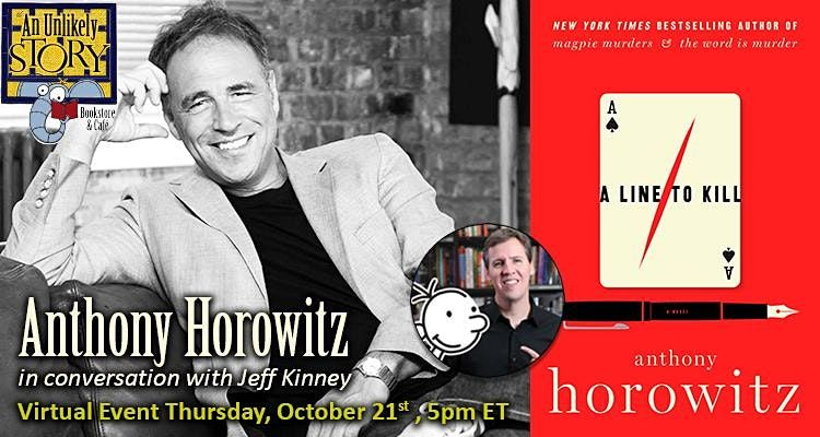 Anthony Horowitz  Virtual Event | Online Event | AllEvents.in
