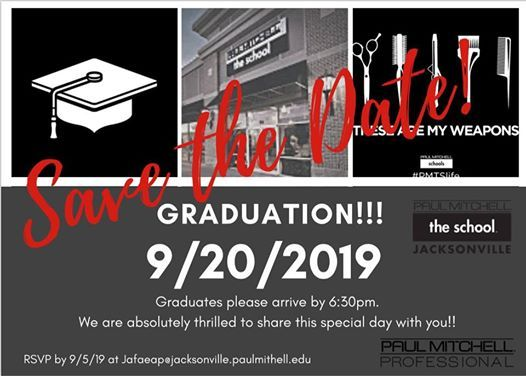 Fall Graduation at Paul Mitchell School - Jacksonville