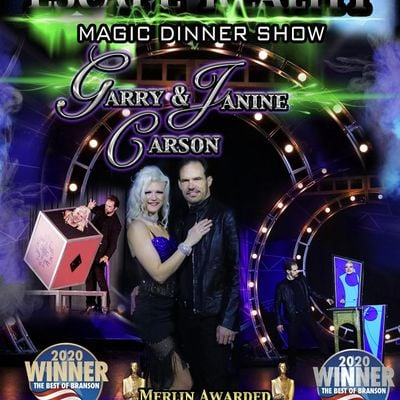 Escape Reality Branson Magic Dinner Show with Garry & Janine Carson