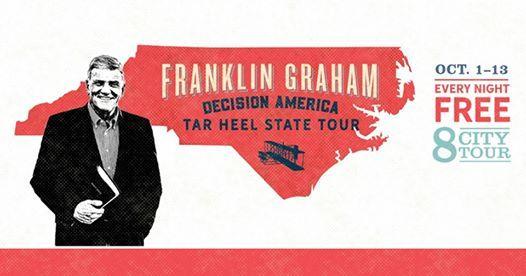 Franklin Graham in Charlotte NC