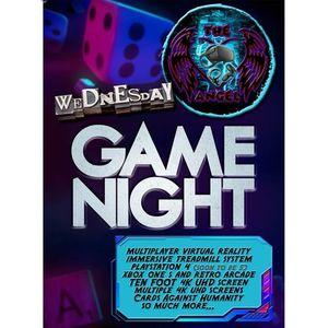 WEDNESDAY GAMES NIGHT
