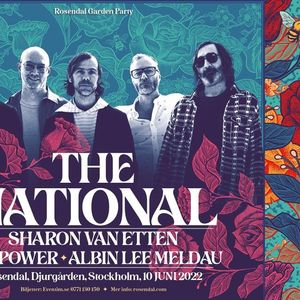 Sommarkvll med The National  Cat Power  Albin Lee Meldau
