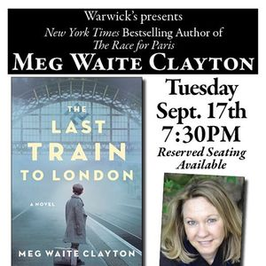 Meg Waite Clayton - The Last Train to London