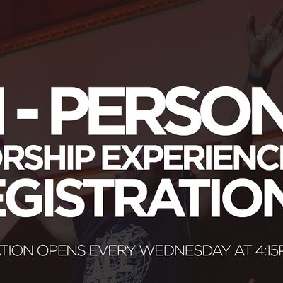 FCBC In-Person Worship Experience