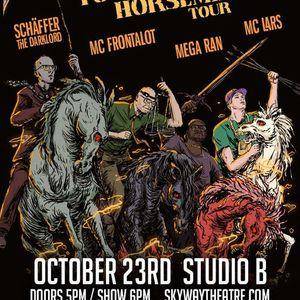 The Four-Eyed Horsemen - Studio B