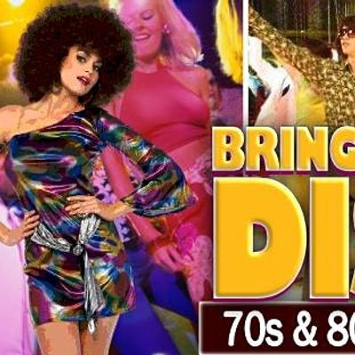 Bring Back The Disco 70s80s Party