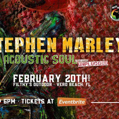 STEPHEN MARLEY Acoustic Soul Tour - VERO