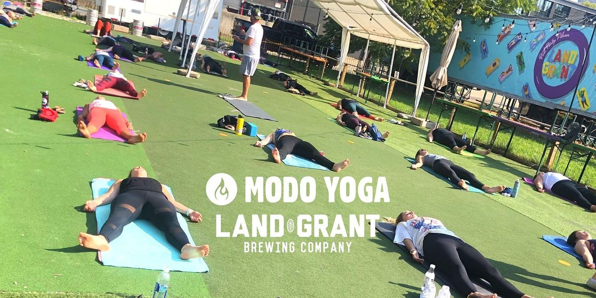 Modo Yoga At Land Grant Brewing   Event in Columbus   AllEvents.in