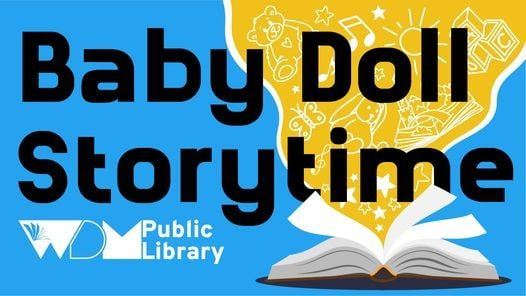 Virtual Baby Doll Storytime with Mindy, 29 April | Online Event | AllEvents.in
