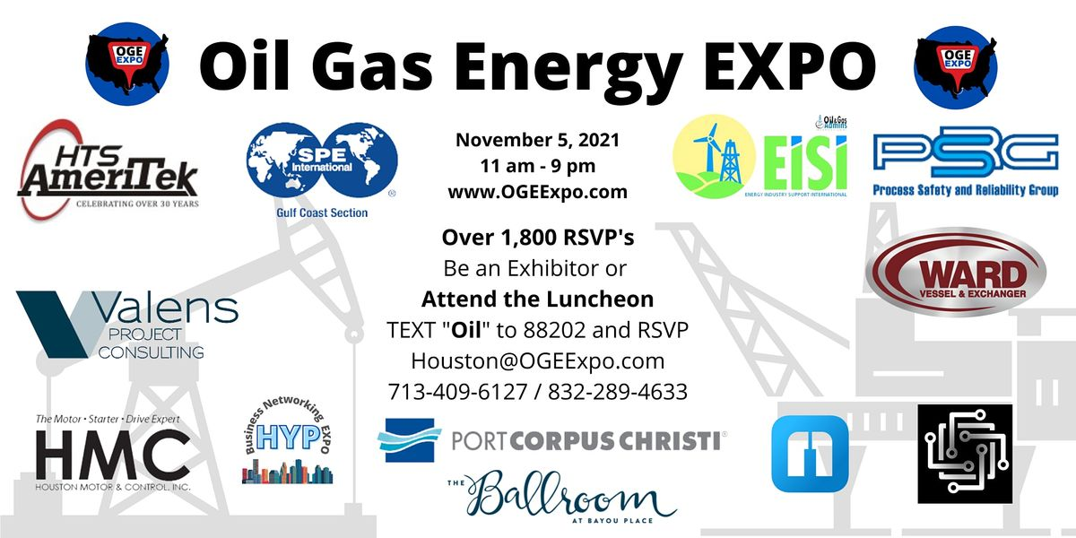 Oil and Gas Job Fair, 5 November   Event in Houston   AllEvents.in